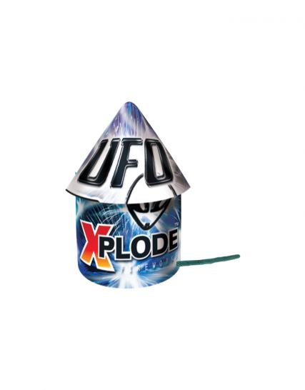 detska pyrotechnika ufo detail