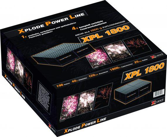 Ohnostroj PowerLine 1800