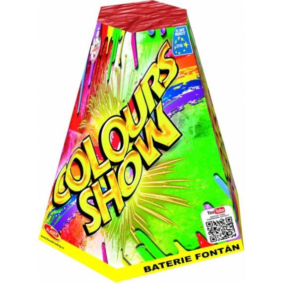 Fontána Colour show